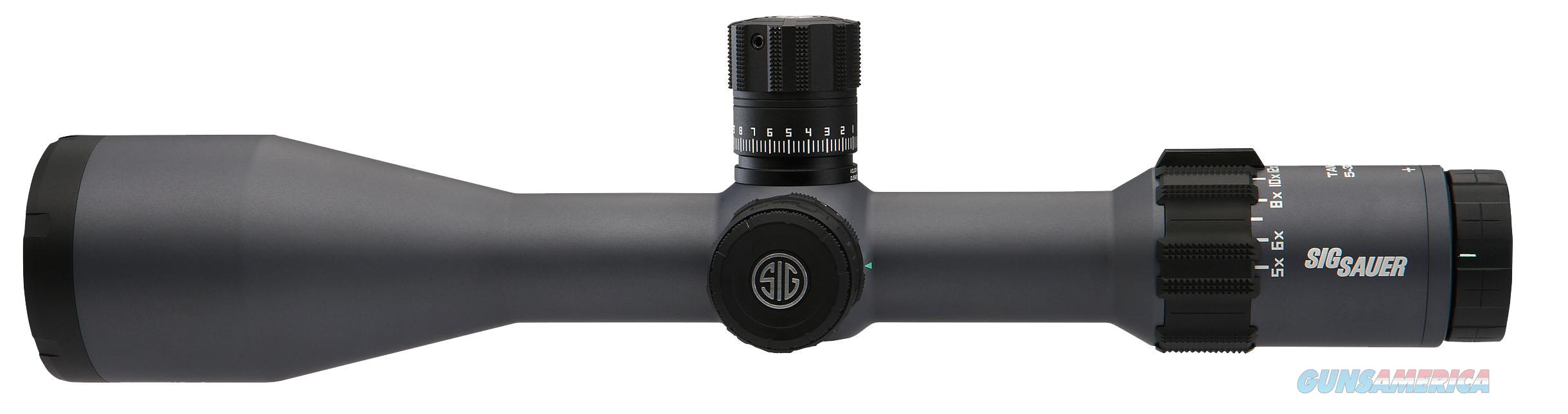 Sig Sauer Electro-Optics Sot65013 Tango6 5-30X 56Mm Obj 18.9-3.3 Ft @ 100 Yds Fov 34Mm Tube Graphite Gray Illuminated Moa Crosshair SOT65013  Non-Guns > Scopes/Mounts/Rings & Optics > Rifle Scopes > Variable Focal Length