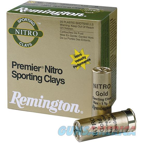 Remington Sts Nitro Sc 12Ga 2.75 1-1/8 #8 25/ STS12NSC8  Non-Guns > Ammunition