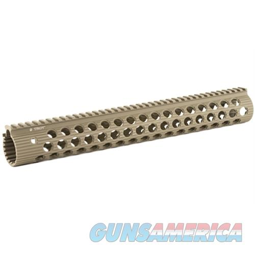 "Troy Industries Inc Troy 15"" Alpha Rail No Sight Fde STRX-AL1-15FT-01  Non-Guns > Gunstocks, Grips & Wood"