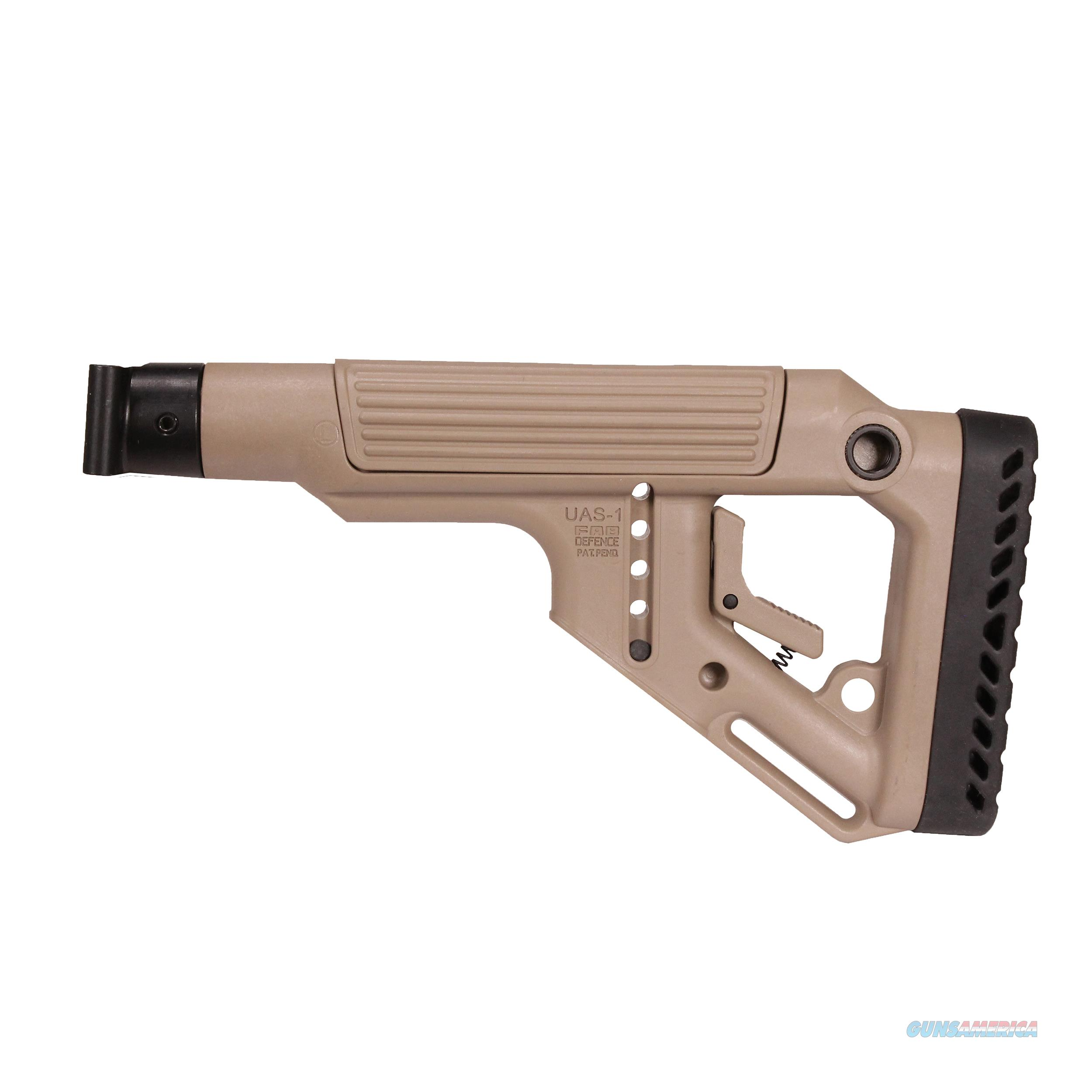 Mako Group Tactical Folding Buttstock With Cheek Riser UAS-SAIGAP-FDE  Non-Guns > Gunstocks, Grips & Wood