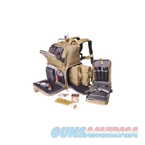 Goutdoors, Inc. G-Outdrs Gps Tac Range Backpack Tan GPS-T1612BPT  Non-Guns > Holsters and Gunleather > Other