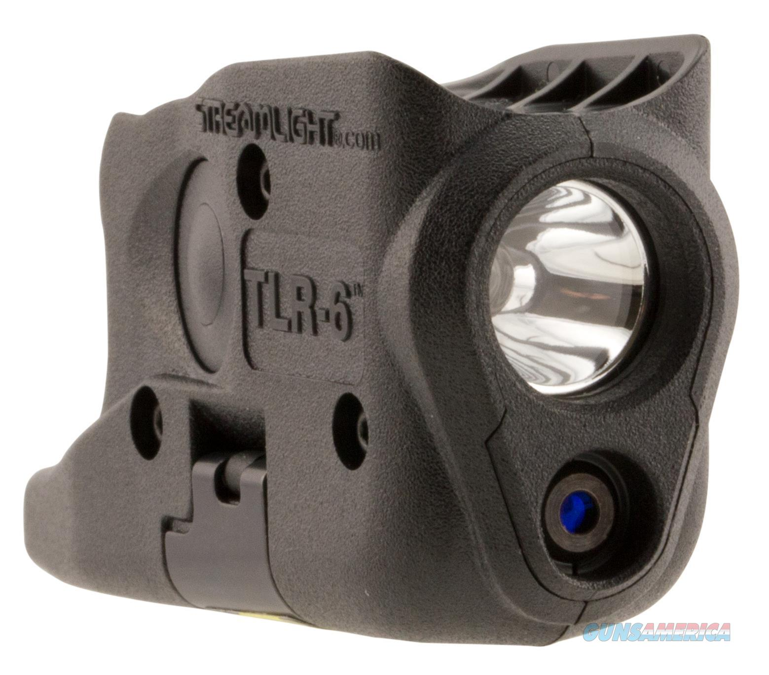 Streamlight 69272 Tlr-6 Laser/Light Combo 100 Lumens Cr-1/3N (2) Black 69272  Non-Guns > Gun Parts > Misc > Rifles