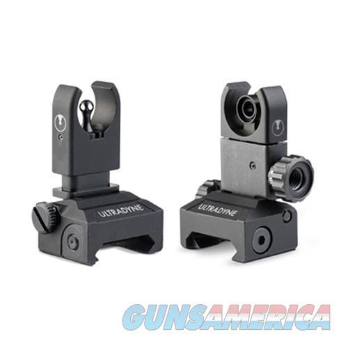 Ultradyne C4 Folding Frnt/Rear Combo UD10480  Non-Guns > Iron/Metal/Peep Sights