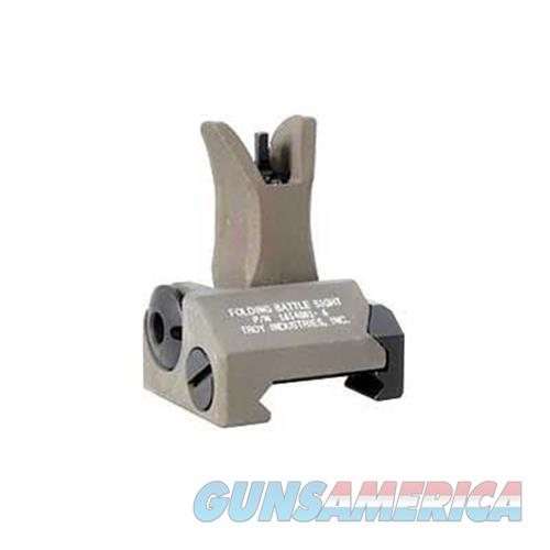 Troy Industries Inc Troy Fldng M4 Front Battle Sight Fde SSIG-FBS-FMFT-00  Non-Guns > Iron/Metal/Peep Sights