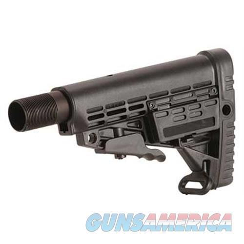 Caa Caa 6-Pos Ar15 Stk W/Rail/Buff Tube CBST  Non-Guns > Gunstocks, Grips & Wood