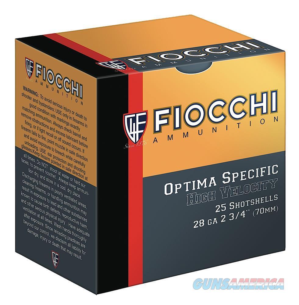 "Fiocchi 28Hv75 High Velocity Shotshell 28 Gauge 2.75"" 3/4 Oz 7.5 Shot 25 Bx/ 10 28HV7.5  Non-Guns > Ammunition"