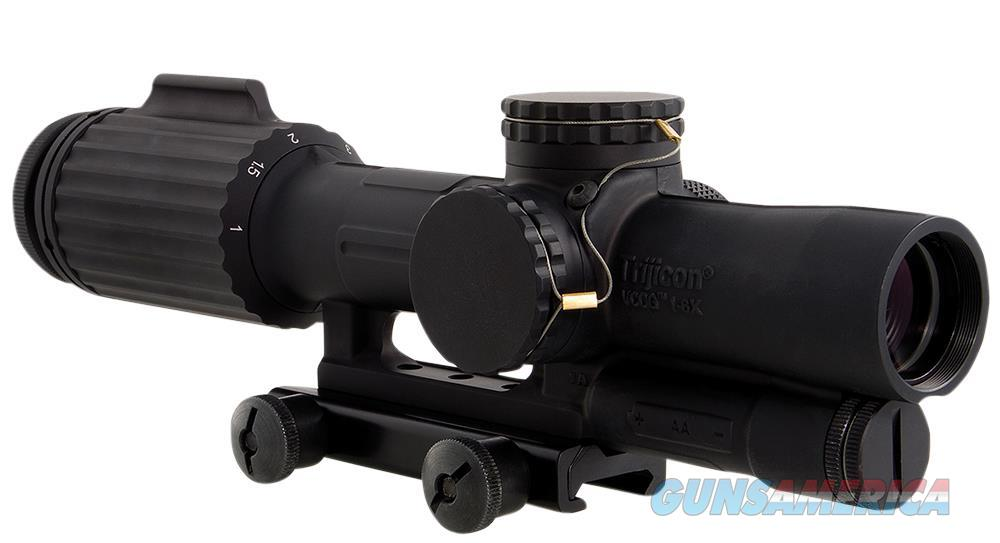 Trijicon 1600001 Vcog 1-6X 24Mm Obj 95-15.9 Ft @ 100 Yds Fov  Black Segmented Circle/Crosshair Red VC16C1600001  Non-Guns > Scopes/Mounts/Rings & Optics > Mounts > Other