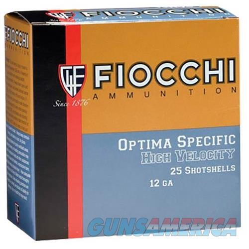 """Fiocchi 123Hv4 High Velocity 12 Ga 3"""" 1-3/4 Oz 4 Shot 25 Bx/ 10Cs 762344705477  Non-Guns > Ammunition"""
