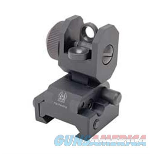 Gg&G, Inc. Gg&G Spring Actuated Rear Flip-Up/Ra GGG-1005SA  Non-Guns > Iron/Metal/Peep Sights