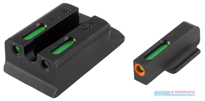 Truglo Tg13rs1pc Tfx Pro Ruger Sr9/Sr40/Sr45 Tritium/Fiber Optic W/Orange Outline R/Green Black Steel TG13RS1PC  Non-Guns > Gun Parts > Misc > Rifles