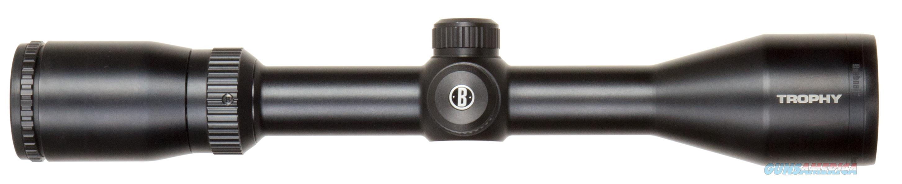 "Bushnell 753960 Trophy 3-9X 40Mm Obj 38-13 Ft @ 100 Yds Fov 1"" Tube Dia Black Matte Multi-X 753960  Non-Guns > Scopes/Mounts/Rings & Optics > Rifle Scopes > Variable Focal Length"