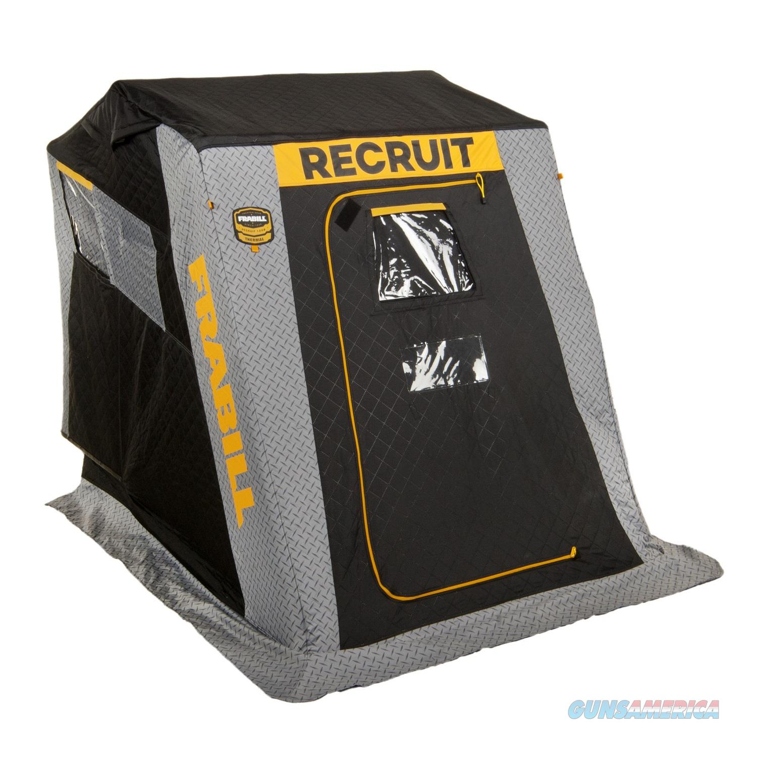 Frabill Recruit 1250 Insulated Flip-Over Shelter Boat Seat 640200  Non-Guns > Fishing/Spearfishing