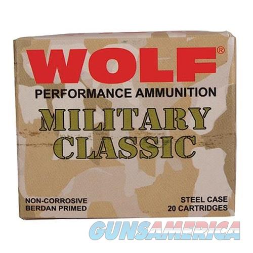Wolf Mc3006sp140 Military Classic 30-06 Springfield Soft Point 140 Gr 500 Rds MC3006SP140  Non-Guns > Ammunition