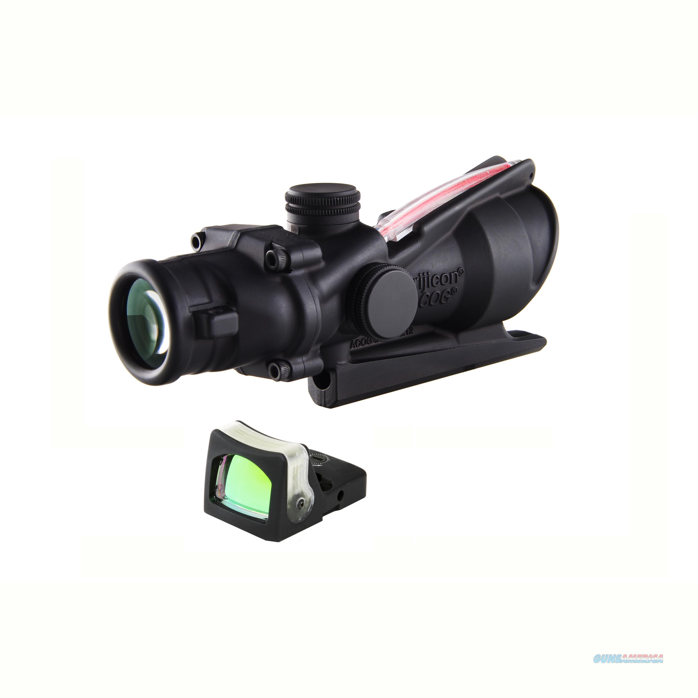 Trius Products Acog 4X32mm Dual Illuminated Scope TA31RM04  Non-Guns > Iron/Metal/Peep Sights
