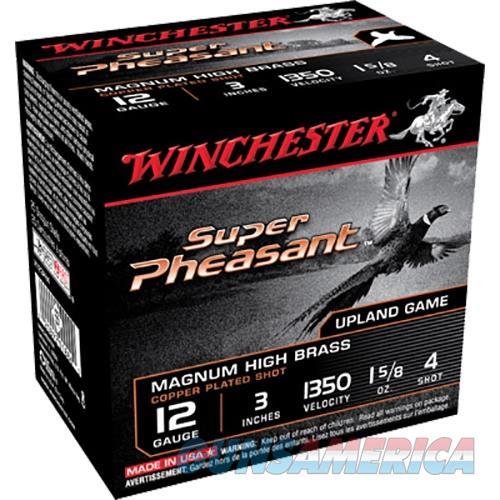 Winchester Super Pheasant 12Gauge 3' #4 1-5/8Oz 25/Bx (25 Rounds X123PH4  Non-Guns > Ammunition