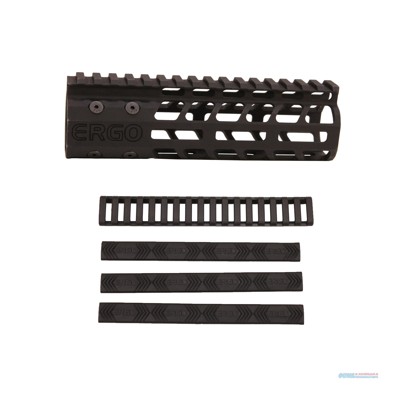 Ergo Superlite Modular Free Float Rail System 48207BK  Non-Guns > Gun Parts > Misc > Rifles