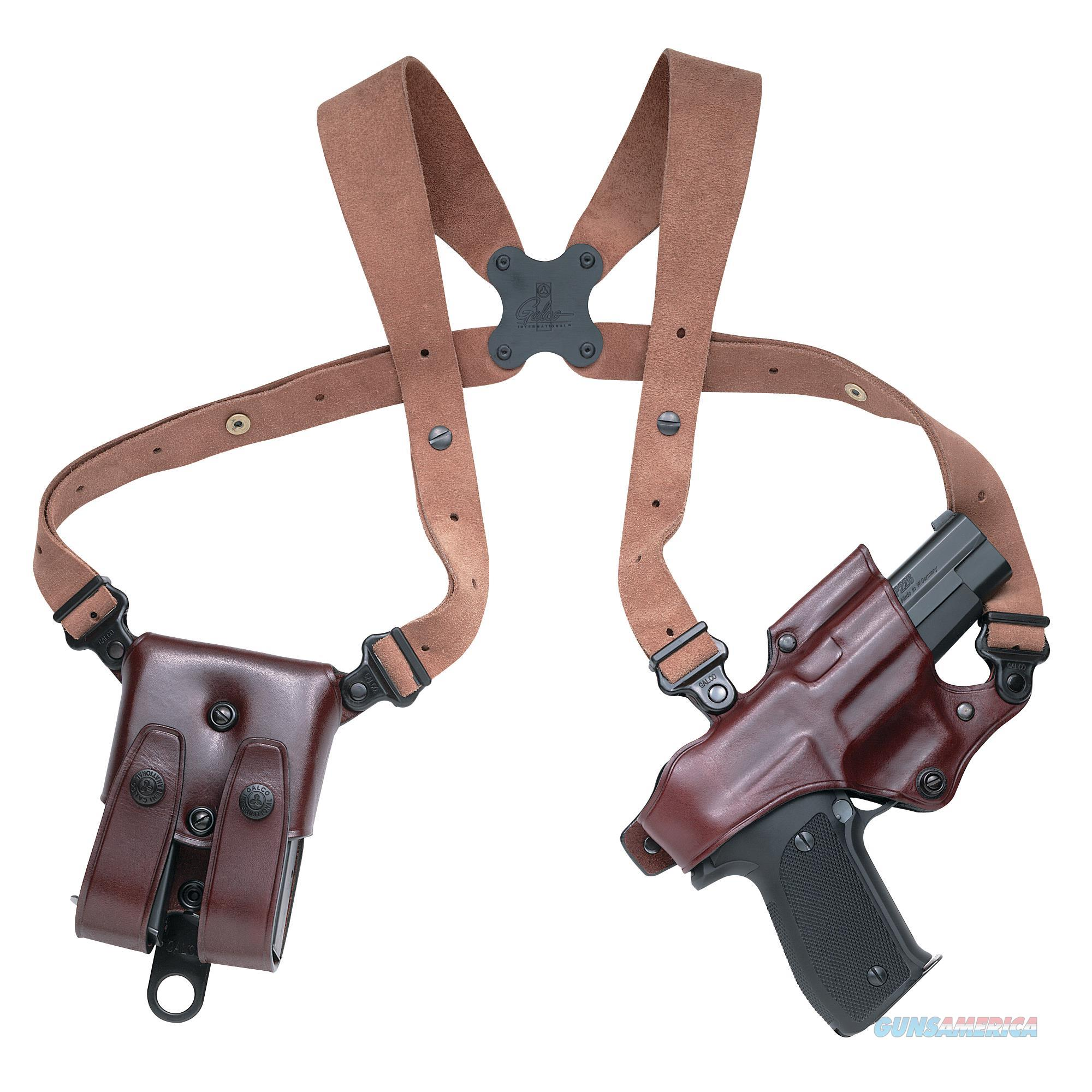 Galco Jr202h Jackass 202H Adjustable Havana Brown Leather W/ Suede Harness JR202H  Non-Guns > Holsters and Gunleather > Other