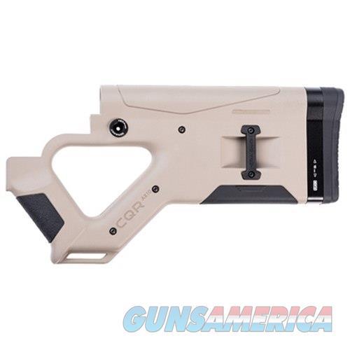Hera Usa Llc Hera Cqr-Ar10 Buttstock Tan 12.51  Non-Guns > Gunstocks, Grips & Wood
