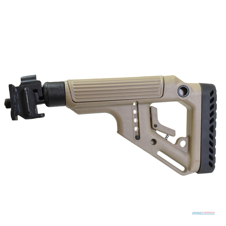 Mako Group Tactical Folding Buttstock UAS-VZ-FDE  Non-Guns > Gunstocks, Grips & Wood