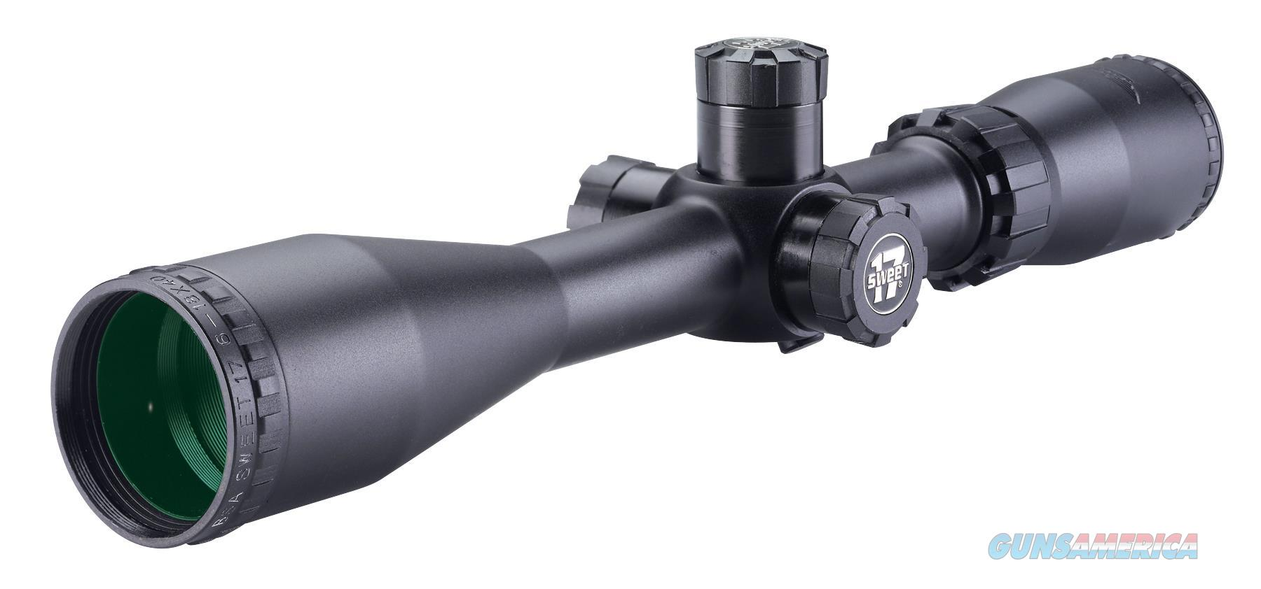 "Bsa S17618x40sp Sweet 6-18X 40Mm Obj 16.6-4.8 Ft @ 100 Yds Fov 1"" Tube Black Duplex S17-618X40SP  Non-Guns > Scopes/Mounts/Rings & Optics > Rifle Scopes > Variable Focal Length"