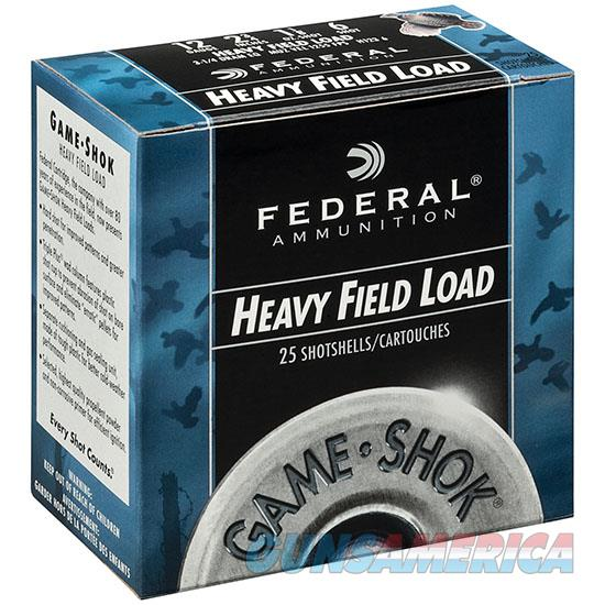 Federal Game-Shok Hvy Field 12Ga 2.75 1.25Oz #6 25/ H125 6  Non-Guns > Ammunition