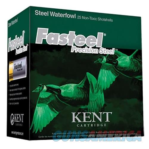 "Kent Cartridge K123st326 Fasteel Waterfowl 12 Ga 3"" 1-1/8 Oz 6 Shot 25 Bx/ 10 K123ST326  Non-Guns > Ammunition"