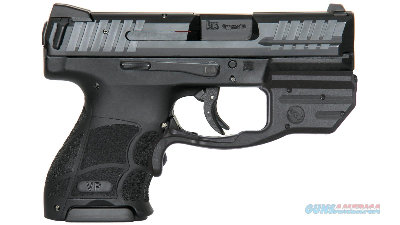 "Heckler & Koch Hk Vp9sk 9Mm 3.39"" 10Rd Blk Red Lg 81000373  Guns > Pistols > H Misc Pistols"