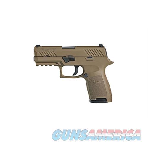 "Sig Sauer Sig P320c 9Mm 3.9"" 10Rd Fde Ns 320C-9-FDE-10  Guns > Pistols > S Misc Pistols"