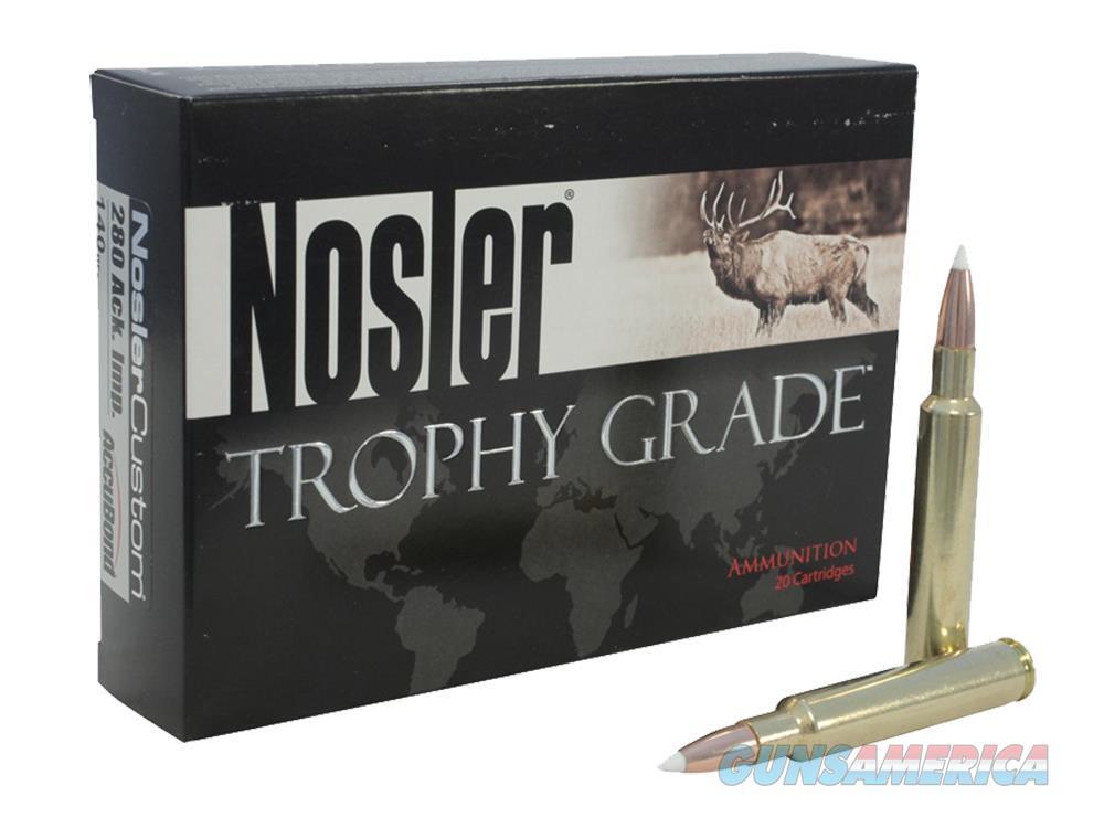 Nosler 10140 Brass Nosler 26 Nosler 10140  Non-Guns > Reloading > Components > Bullets