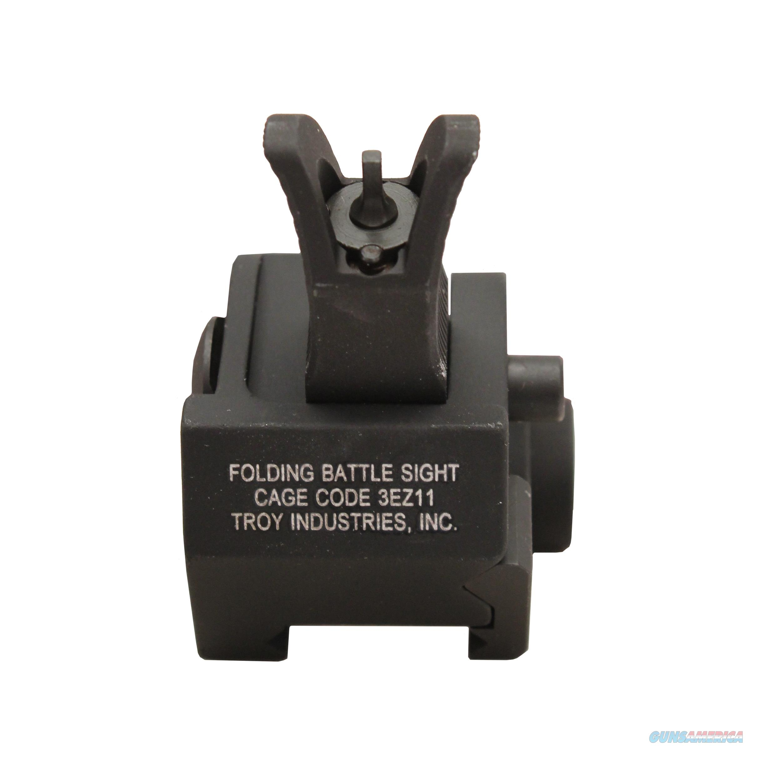 Troy Industries Inc Front M4 Gas Block Sight SSIG-GBF-0MBT-00  Non-Guns > Iron/Metal/Peep Sights