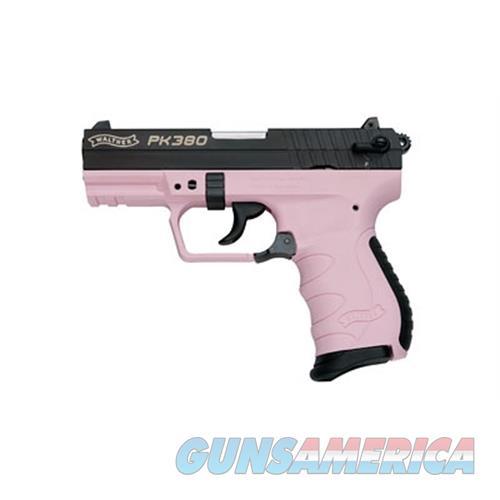 """Wal Pk380 380Acp 3.6"""" Bl/Pink 8Rd 5050311  Guns > Pistols > W Misc Pistols"""