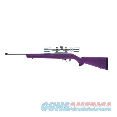 Hogue 22016 10-22 Rifle Rubber Overmolded Synthetic Purple 22016  Non-Guns > Gunstocks, Grips & Wood