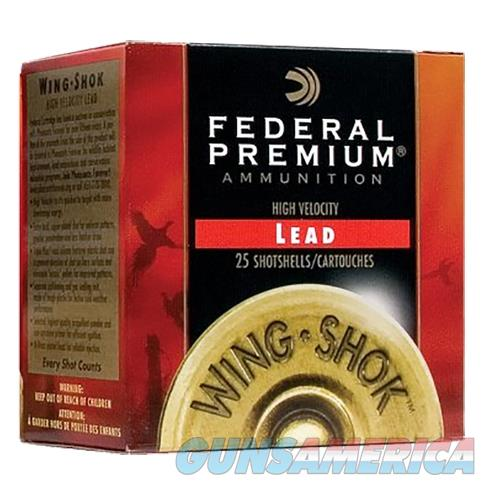 Federal Wing Shok Hv 12Ga 2.75'' 1-1/4Oz #6 25/Bx PF154 6  Non-Guns > Ammunition