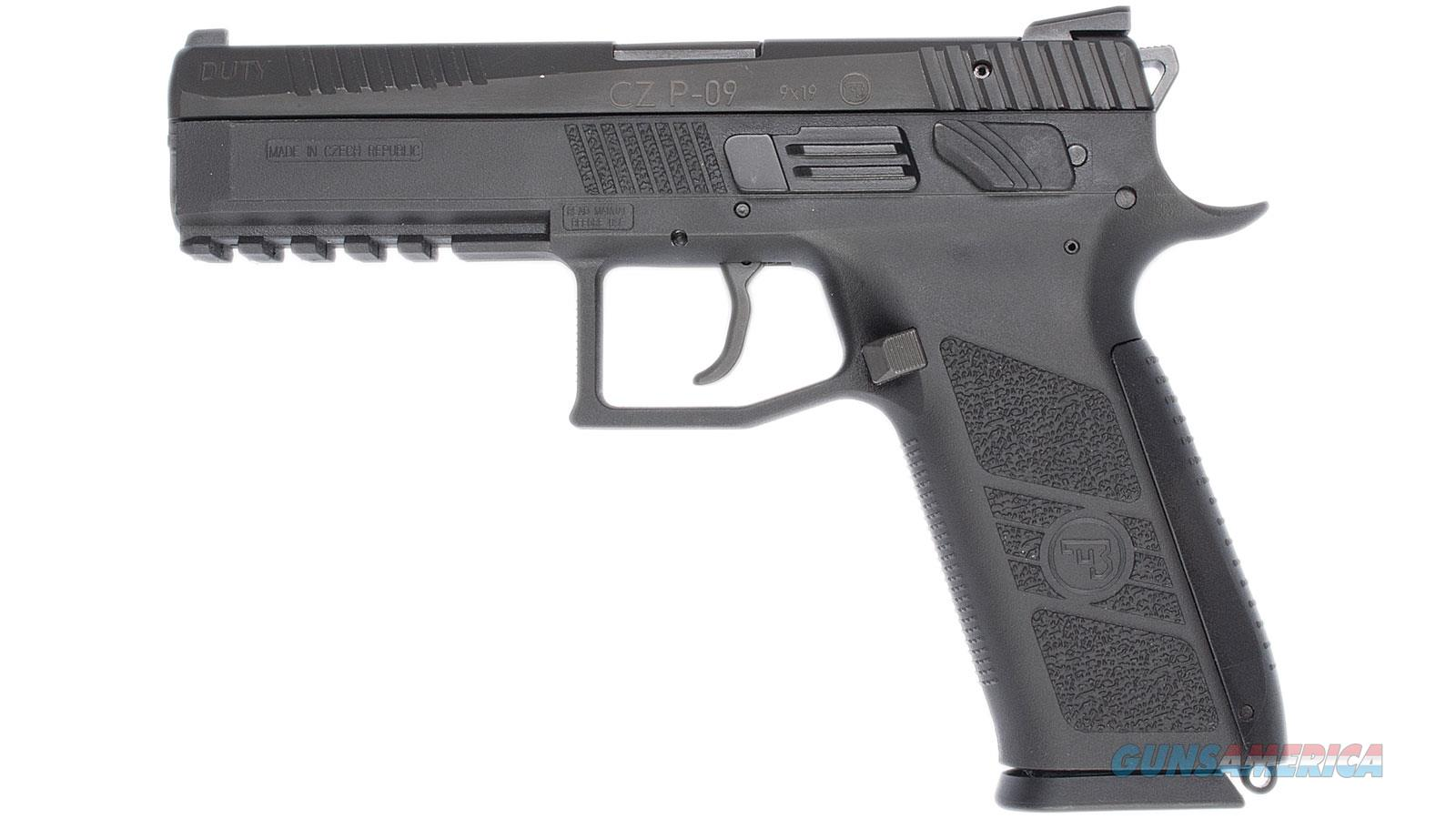 Cz P-09 9Mm Black Poly 01620  Guns > Pistols > C Misc Pistols