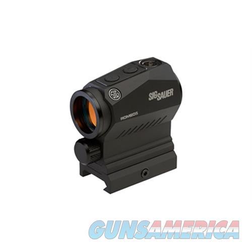 Sig Romeo5x Red Dot 1X20 2Moa 1913 SOR52101  Non-Guns > Iron/Metal/Peep Sights