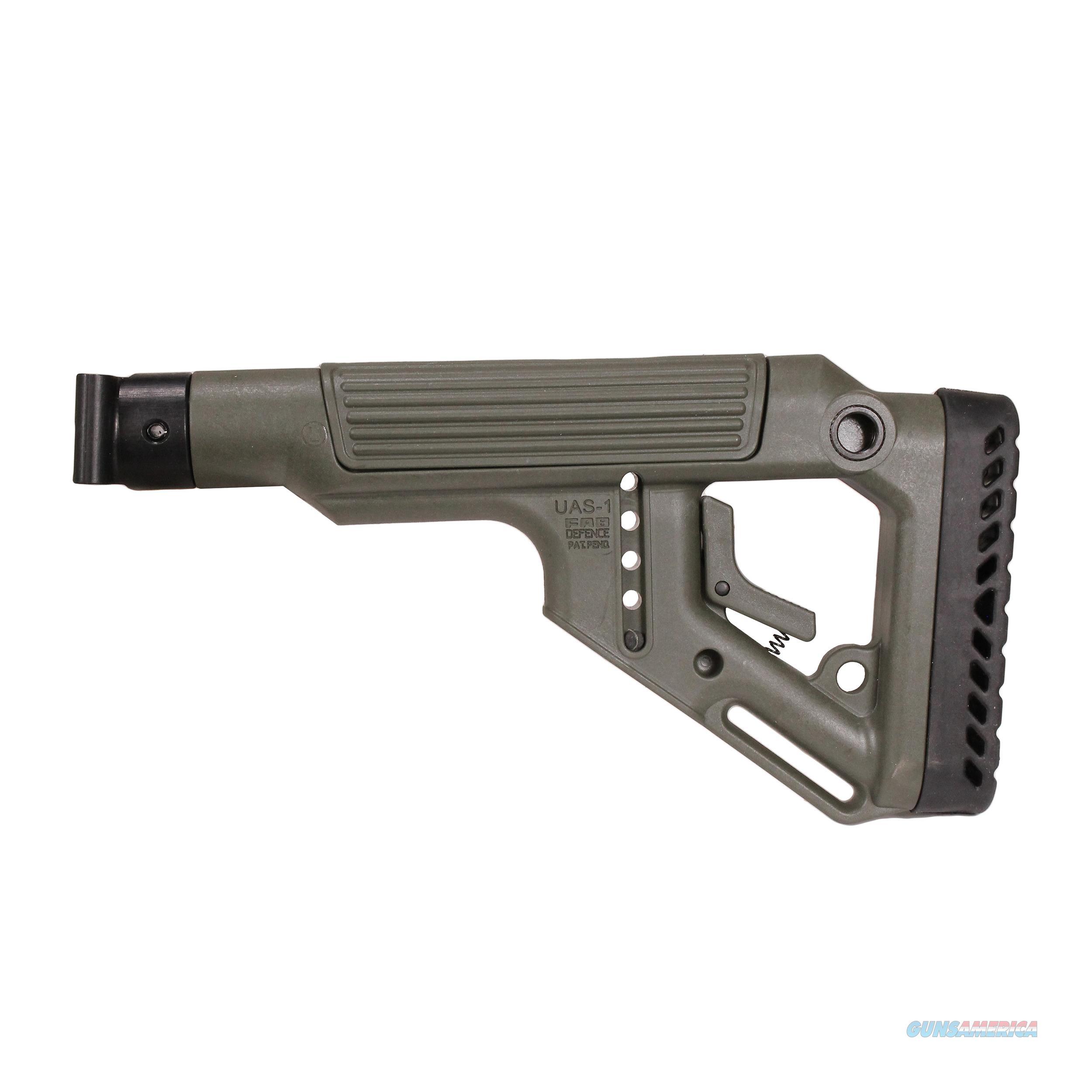 Mako Group Tactical Folding Buttstock With Cheek Riser UAS-SAIGAP-OD  Non-Guns > Gunstocks, Grips & Wood