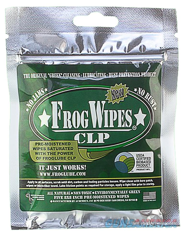 Froglube 14936 Clp Wipes Cleaner/Lubricant 5 Wipes/Pack 14936  Non-Guns > Gunsmith Tools/Supplies