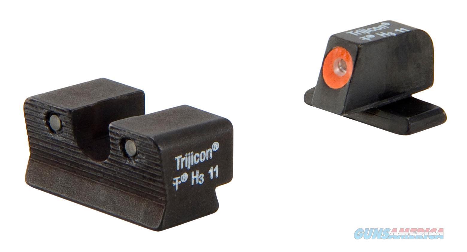 Trijicon 600752 Hd Night Sights Springfield Xd-S Tritium/Paint Blk SP102-C-600752  Non-Guns > Iron/Metal/Peep Sights
