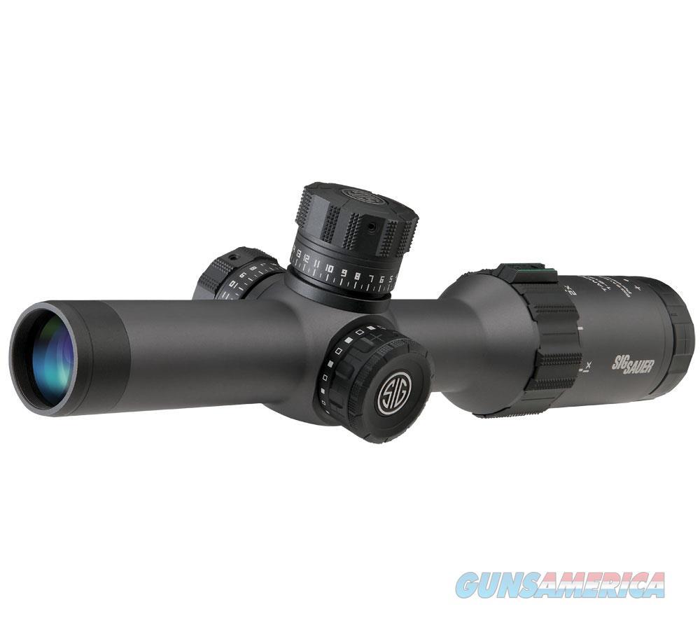 Sig Sauer Tango 6 1-6X24, 30Mm 3 Gun SOT61008  Non-Guns > Scopes/Mounts/Rings & Optics > Rifle Scopes > Variable Focal Length