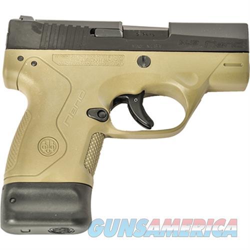 Nano 9Mm Blk Slide Fde JMN9S55  Guns > Pistols > B Misc Pistols