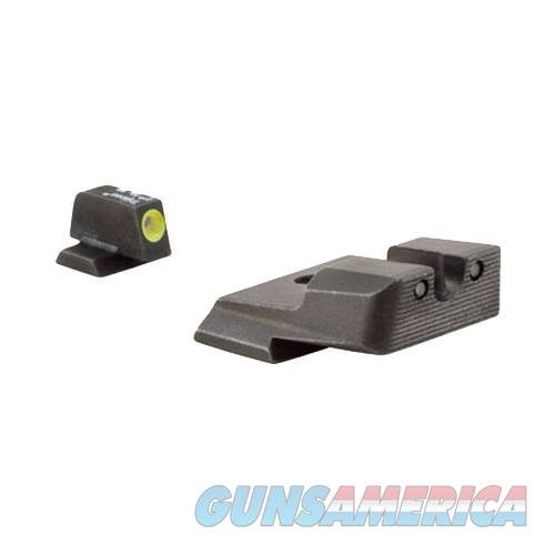 Trijicon 600558 Hd Night Sights S&W M&P/Sd9 Ve/Sd40 Ve Tritium/Paint Green W/Yellow Outline Tritium/Paint Green W/Black Outline Black SA137Y  Non-Guns > Iron/Metal/Peep Sights