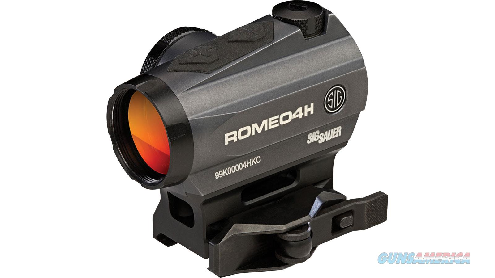 Sig Sauer Romeo4h Red Dot Sight Ball SOR43012  Non-Guns > Iron/Metal/Peep Sights