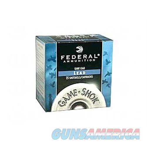 "Fed Game Load 12Ga 2 3/4"" #8 25/250 H121 8  Non-Guns > Ammunition"