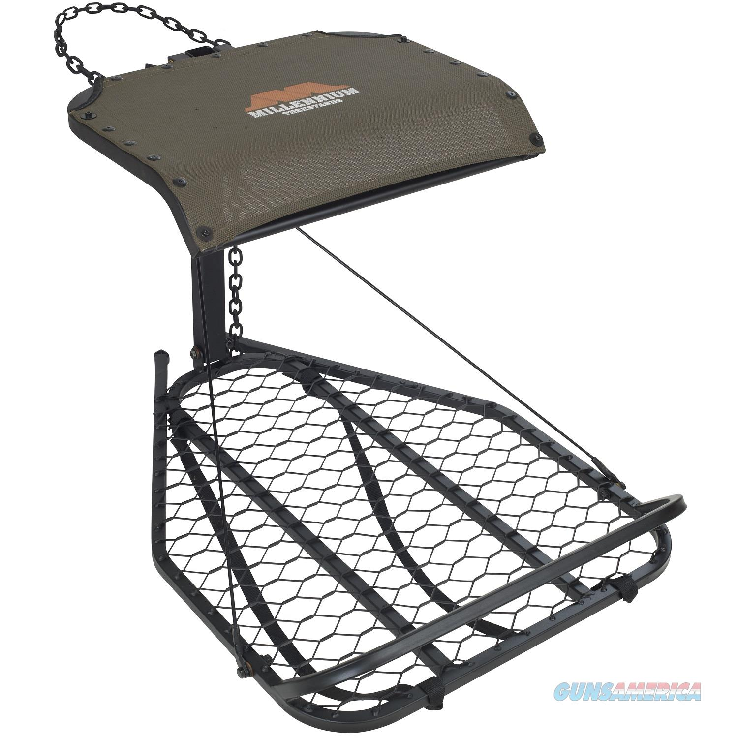 Millennium M-25A Steel Hang-On Treestand M-025-SL  Non-Guns > Hunting Clothing and Equipment > Tree Stands