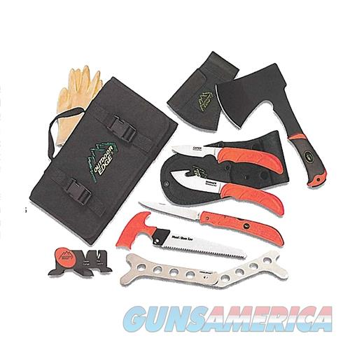 Outdoor Edge Of1 Outfitter Cleaning Kit Multiple 65Mn Carbon Steel 8 Piece Set OF-1  Non-Guns > Knives/Swords > Knives > Fixed Blade > Imported