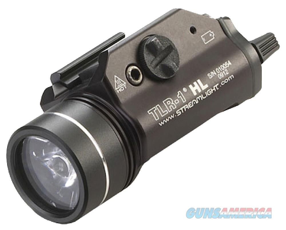 Streamlight 69260 Tlr-1 Hl Weapon Light 800 Lumens Cr123a Lithium (2) Black 69260  Non-Guns > Tactical Equipment/Vests