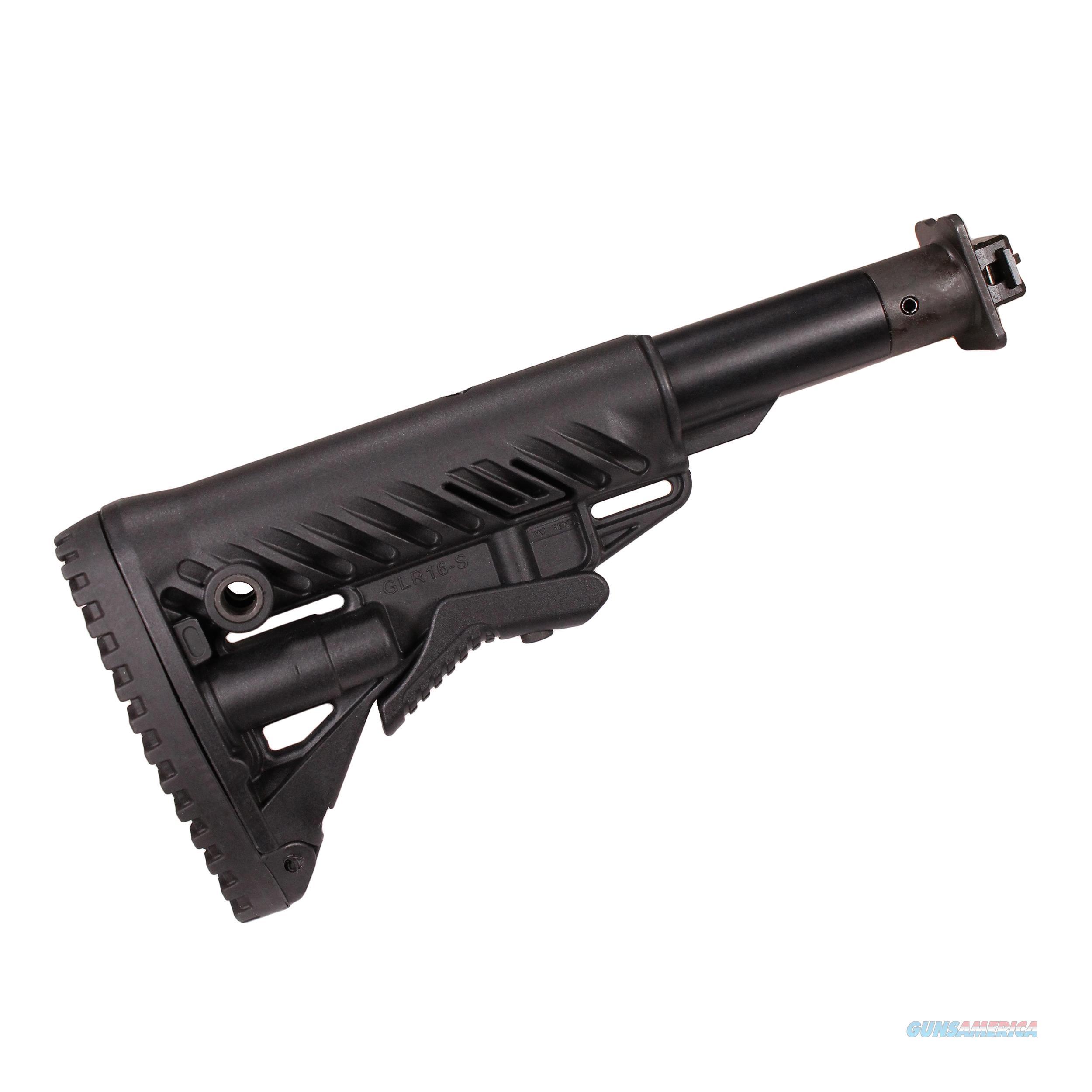 Mako Group M4 Collapsible Buttstock M4VEPR-FK-B  Non-Guns > Gunstocks, Grips & Wood