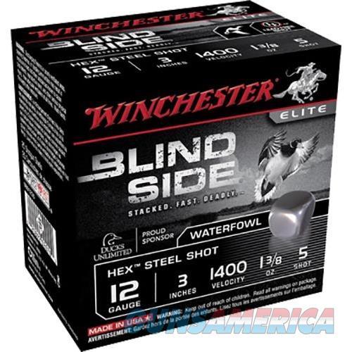 Winchester Ammo Blind Side 12Ga 3'' #5 1-3/8Oz 25/Bx SBS1235  Non-Guns > Ammunition