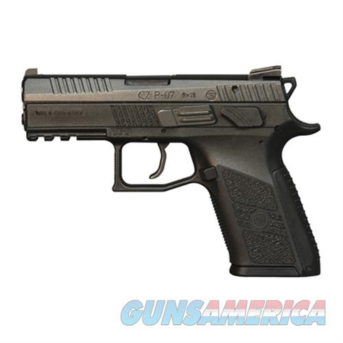 Cz P-07 9Mm Black Poly 91086  Guns > Pistols > C Misc Pistols