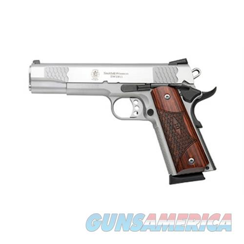 Smith & Wesson 1911 45Acp E Series 5 Ss Wood Grips 8Rd 108482  Guns > Pistols > S Misc Pistols